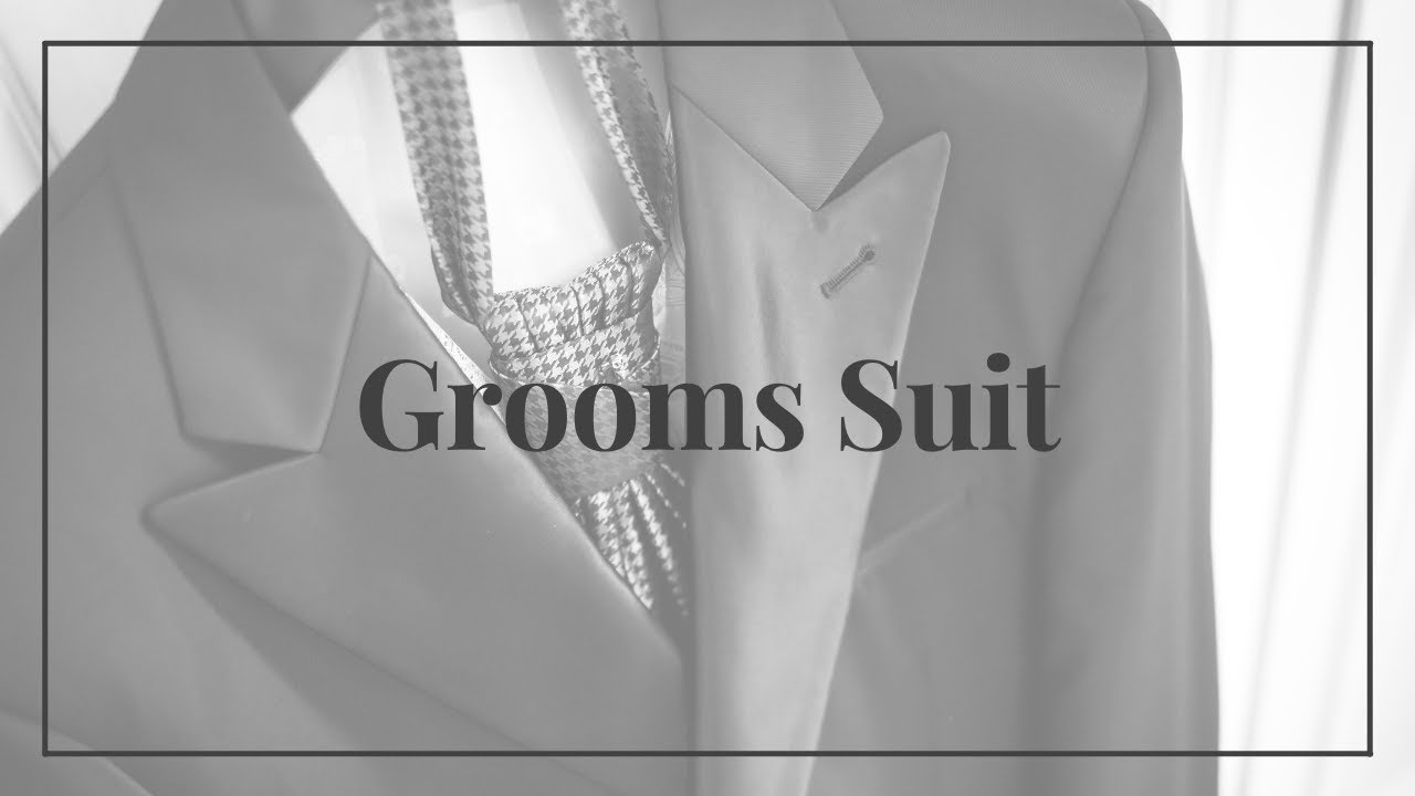 Yoda's Tips for the Grooms Suit