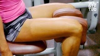 Как эффективно накачать ягодицы. Зина Руденко.(В этом видео Зина Руденко показывает необычную и очень эффективную тренировку для ягодичных мышц! ПН - фитн..., 2013-04-15T05:22:53.000Z)