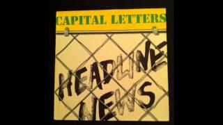 CAPITAL LETTERS - Buzz Rock
