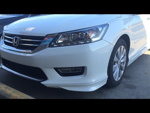 2014 Honda Accord Touring V6 Start Up, Exhaust, and Review ...