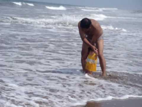 mateo vega en la playa