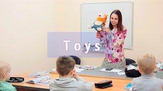 """Урок английского языка для детей """"Toys"""". Лингвистический центр ReloD (юго-западный филиал)"""