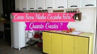 TOUR PELA MINHA COZINHA FOFURENTA | Carla Oliveira