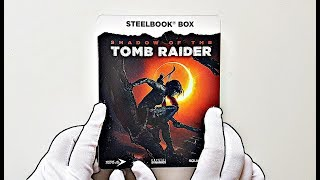 Shadow of the Tomb Raider STEELBOOK Unboxing