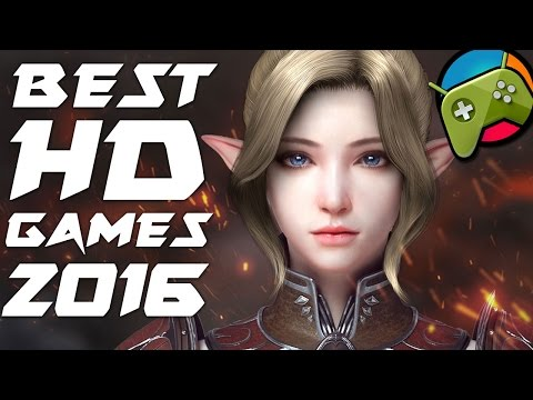 Top 20 Best HD Android Games 2016 (HD Graphics)