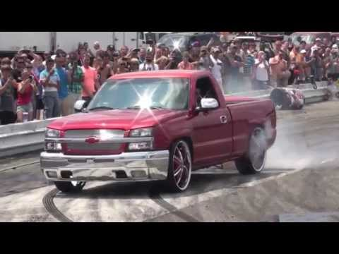 NOPI Nationals 2014 Myrtle Beach Burnout Ford v Chevy