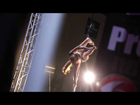 Pole Fitness with Oksana Grishina at the Legion Sports Fest