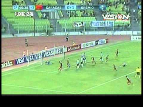 CARACAS 2-1 GREMIO 2013 - Vision Deportiva 2013 TVT Canal 39
