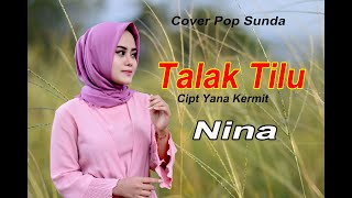 TALAK TILU (Detty K) - NINA # Pop Sunda Cover