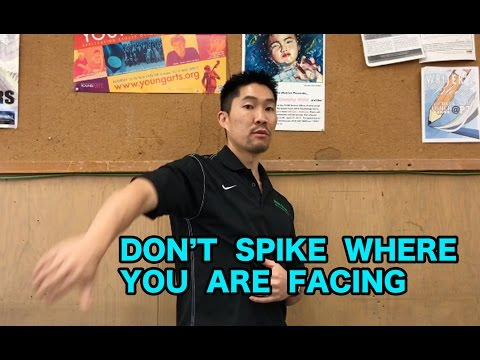 DON'T SPIKE WHERE YOU'RE FACING - Volleyball Tip Of The Week #3