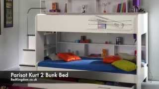 Parisot Kurt Bebop - Childrens Bunk Bed - Bedkingdom