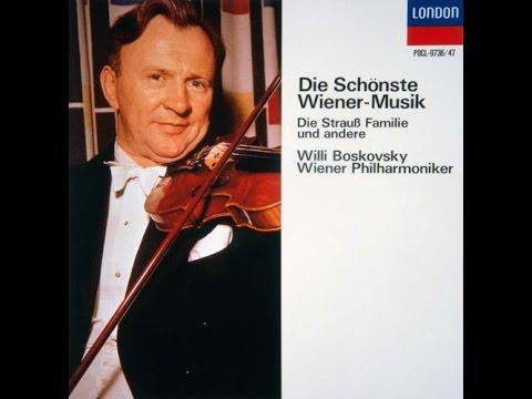**♪J.シュトラウス2世:歌劇「こうもり」 - 序曲 / ウィリー・ボスコフスキー指揮ウィーン・フィルハーモニー管弦楽団