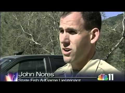 NBC 11 story on the Recovery of Ambushed Fish & Game Warden
