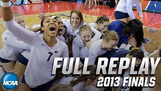 Penn State vs. Wisconsin: 2013 NCAA women's volleyball final | FULL REPLAY