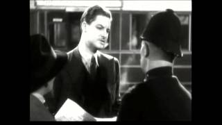 The 39 Steps (1935)   Hannay's train escape