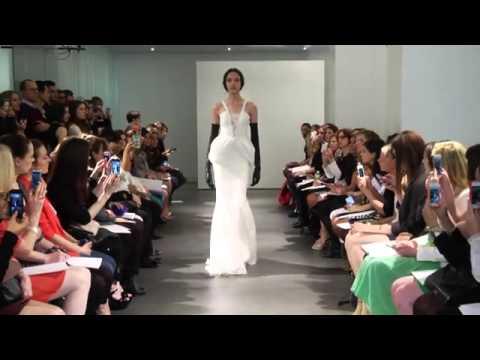 Vídeo do desfile dos vestidos de noiva Vera Wang 2014