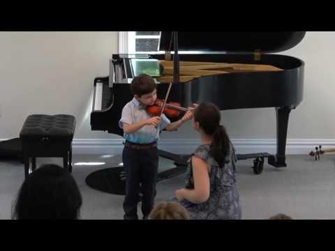 Arman, violin, 4yo