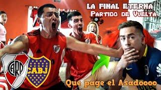 River 3 Boca 1   Copa Libertadores - Final - Vuelta   Reacciones de Amigos
