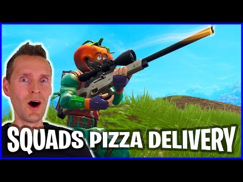 Random Squads with TOMATOHEAD Pizza Delivery in Battle Royale!