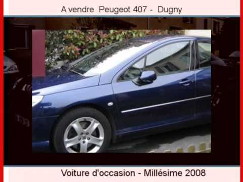 achat vente une peugeot 407 dugny seine saint denis youtube. Black Bedroom Furniture Sets. Home Design Ideas