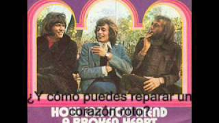 The Bee Gees - How Can You Mend A Broken Heart (Subtitulada Español)