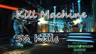 Shadowgun Deadzone Zone Control: KillMachine (56 Kills)