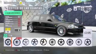 Tuneamos el civic type R del 97! | Forza Horizon 3