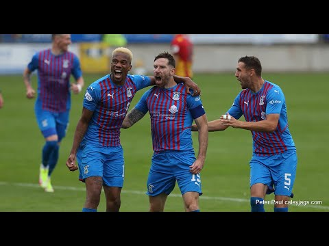 Inverness CT Partick Thistle Goals And Highlights