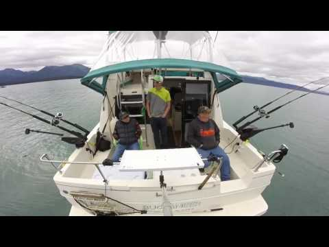 Awesome Salmon Fishing with Rum Runner Charters ~ Juneau Alaska
