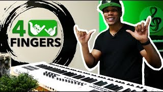 how to create play and produce music with 4 fingers 4fingers
