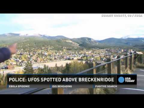 UFOs spotted floating over Breckenridge