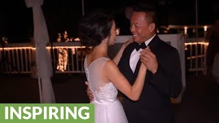 Father & daughter surprise wedding dance to 'Watch Me (Whip/Nae Nae)'