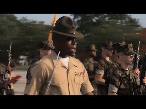 Bravo Co. Marines - Initial Drill
