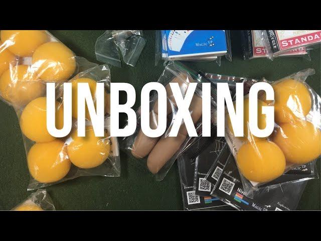 Unboxing Itens de Mágica Incríveis