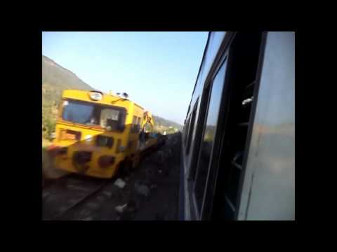 JOURNEY COMPILATION, ONBOARD SPEEDSTER JAN SHATABDI EXP FROM THANE TO KANKAVLI
