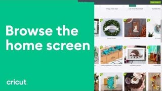 Introduction to Cricut Design Space - Home Page Overview