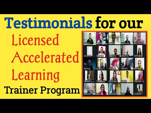 Testimonials From Our Latest Licensed Accelerated Trainer Program||