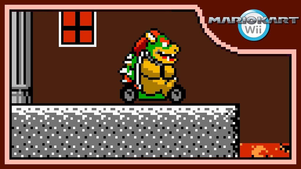 Mario Kart Wii Music Bowser S Castle By Supahmario1
