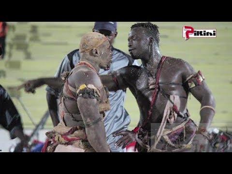 Senegalese Wrestling : Zarko vs Lansar Phenom