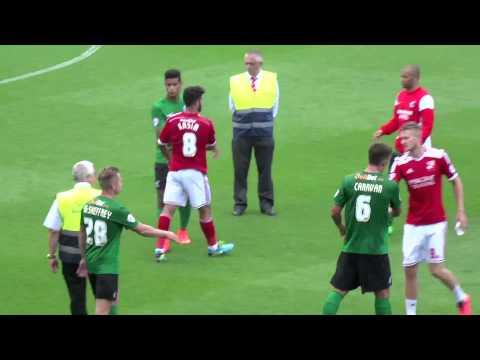 Post Match - Swindon Town F.C. vs Scunthorpe United F.C. 09.08.14