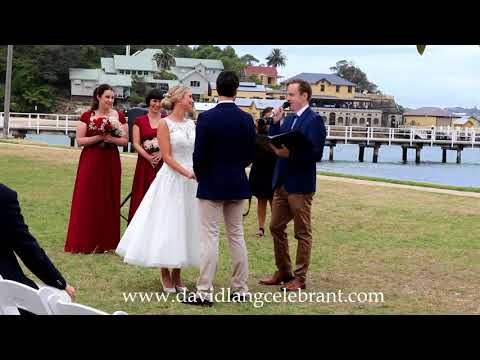 David Lang Sydney Wedding Celebrant