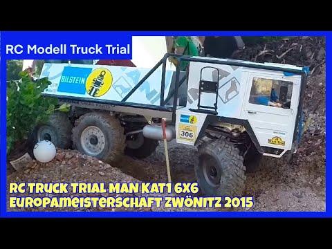 Scale Modell Truck Trial Europameisterschaft 2015 in Zwönitz