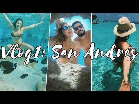 VLOG SAN ANDRÉS #1: Volta na Ilha, Rocky Cay, Johnny Cay e El Acuario