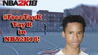 #FREETAY-K | WIE ERSTELLEN TAY-K IN DER NBA 2K18!! | QUICK-TUTORIAL!