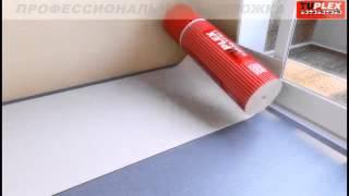 TUPLEX   профессиональная подложка под паркет ламинат(Купить напольные покрытия можно в магазине http://a-parket.com/, 2015-07-04T15:47:16.000Z)
