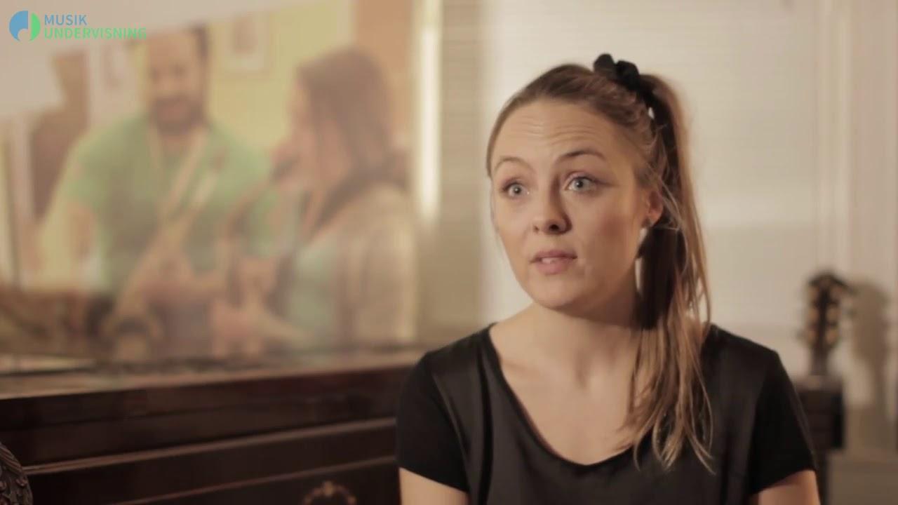 Malene Mailand. Sanglærer ved Musikundervisning.dk