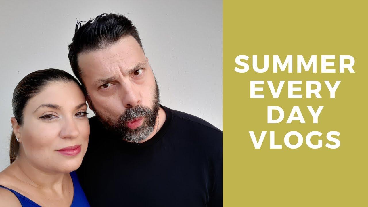 Summer Everyday Vlogs #5!Supermarket Haul με τον Τζώνη! l Nancy Stergiou