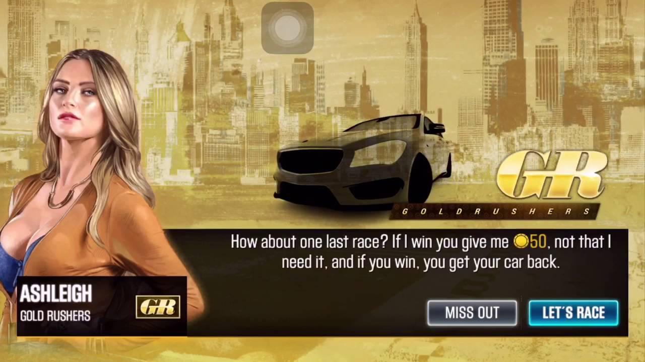 Girl Rush  Car Game