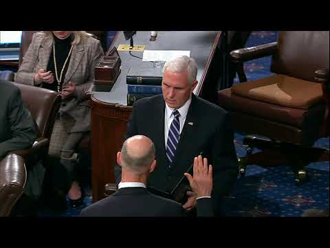 Rick Scott sworn in as Florida's freshman senator