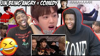 Jin scolding BTS members | ANGRY MOMENTS (REACTION)